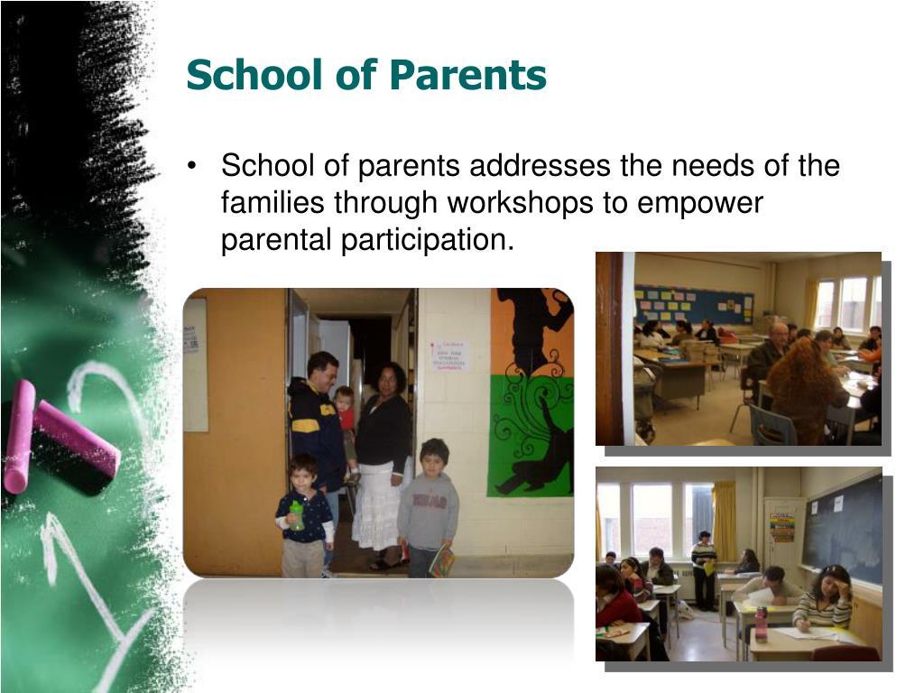 School of Parents