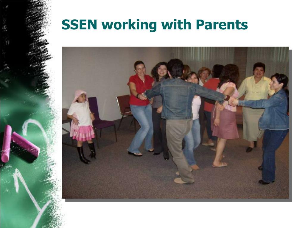 SSEN working with Parents