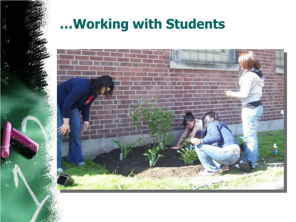 …Working with Students
