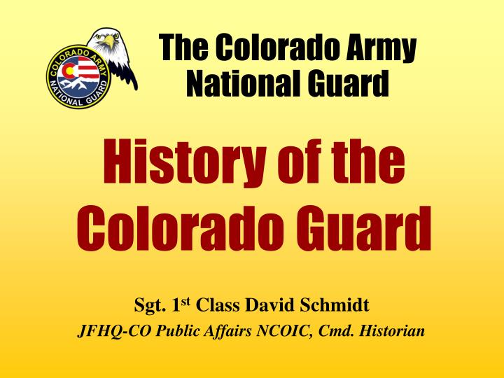 the colorado army national guard n.