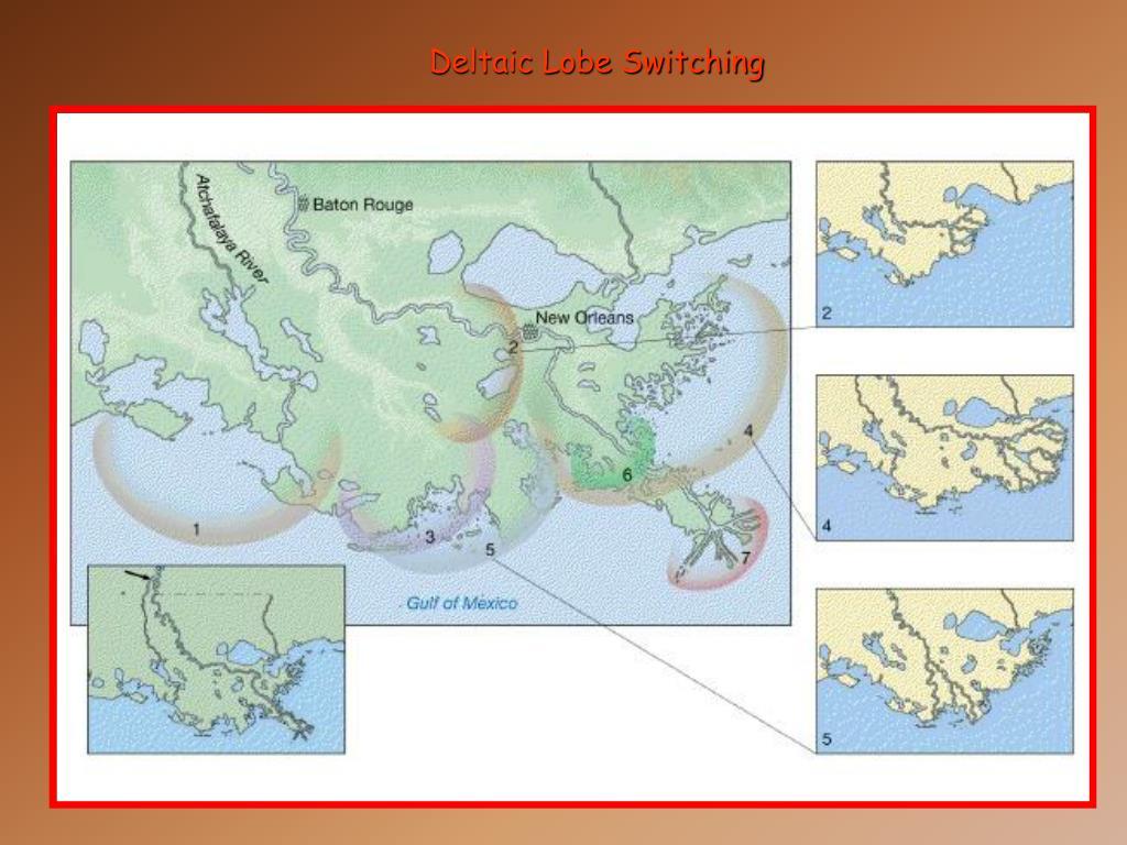 Deltaic Lobe Switching