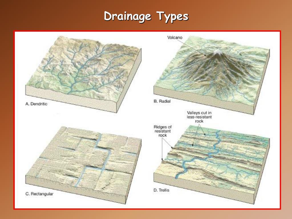 Drainage Types