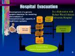 hospital evacuation