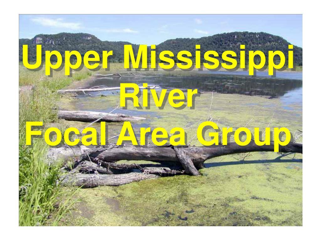 upper mississippi river focal area group l.