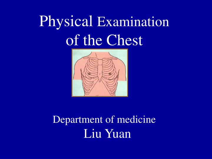 the chest examination essay Why i hate examinations examinations, like a surgeon's knife, are necessary evil nobody can do without the examination in fact, life itself is a continuous examination we are taking tests at all stages of our life the present system of examination in our educational set up was devised by the.