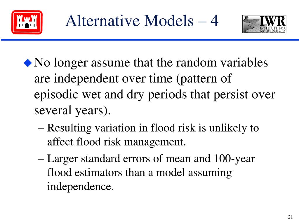 Alternative Models – 4