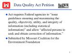 data quality act petition28