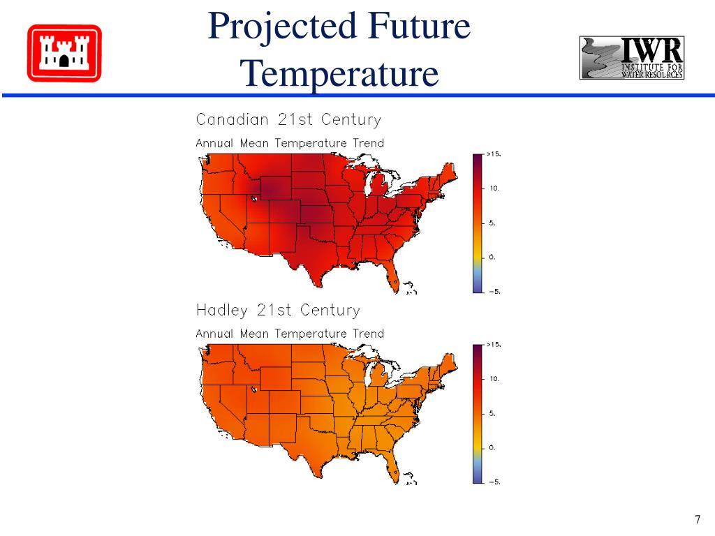 Projected Future Temperature