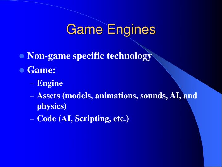 game engines n.