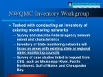 nwqmc inventory workgroup