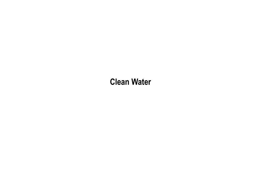 clean water l.