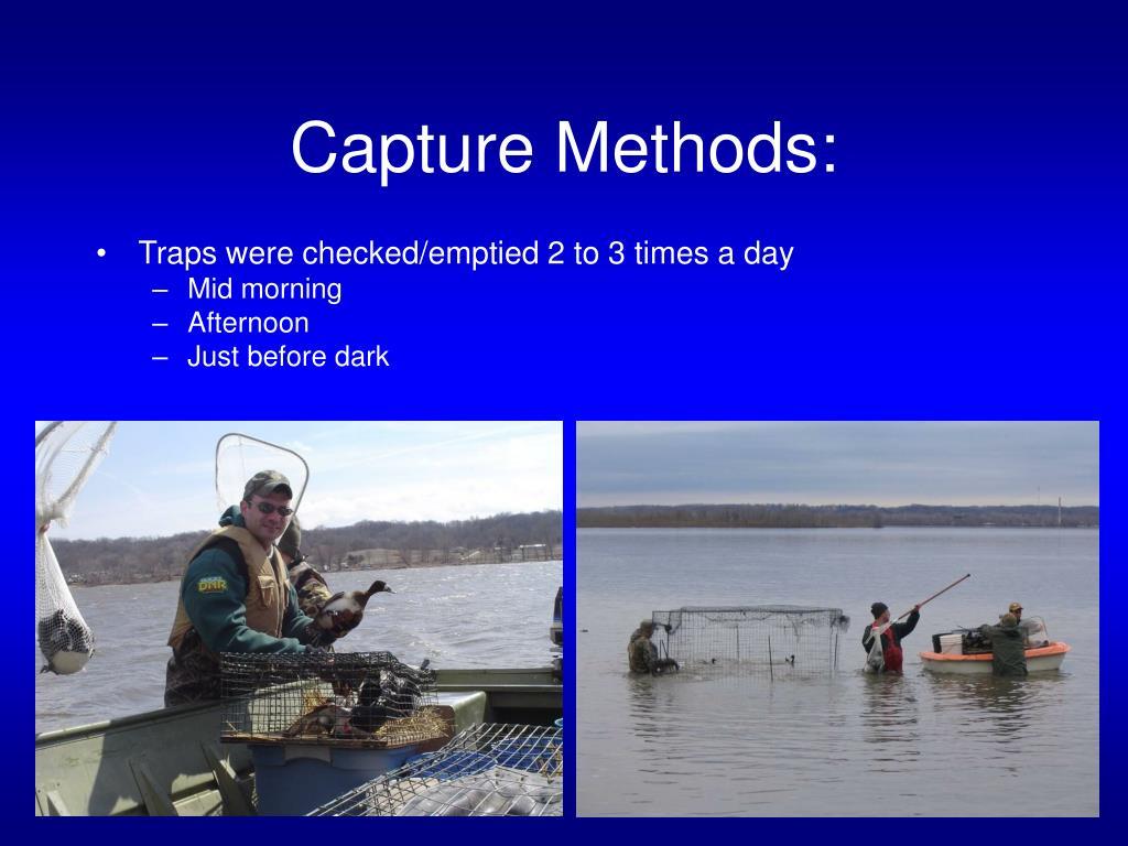 Capture Methods: