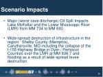 scenario impacts