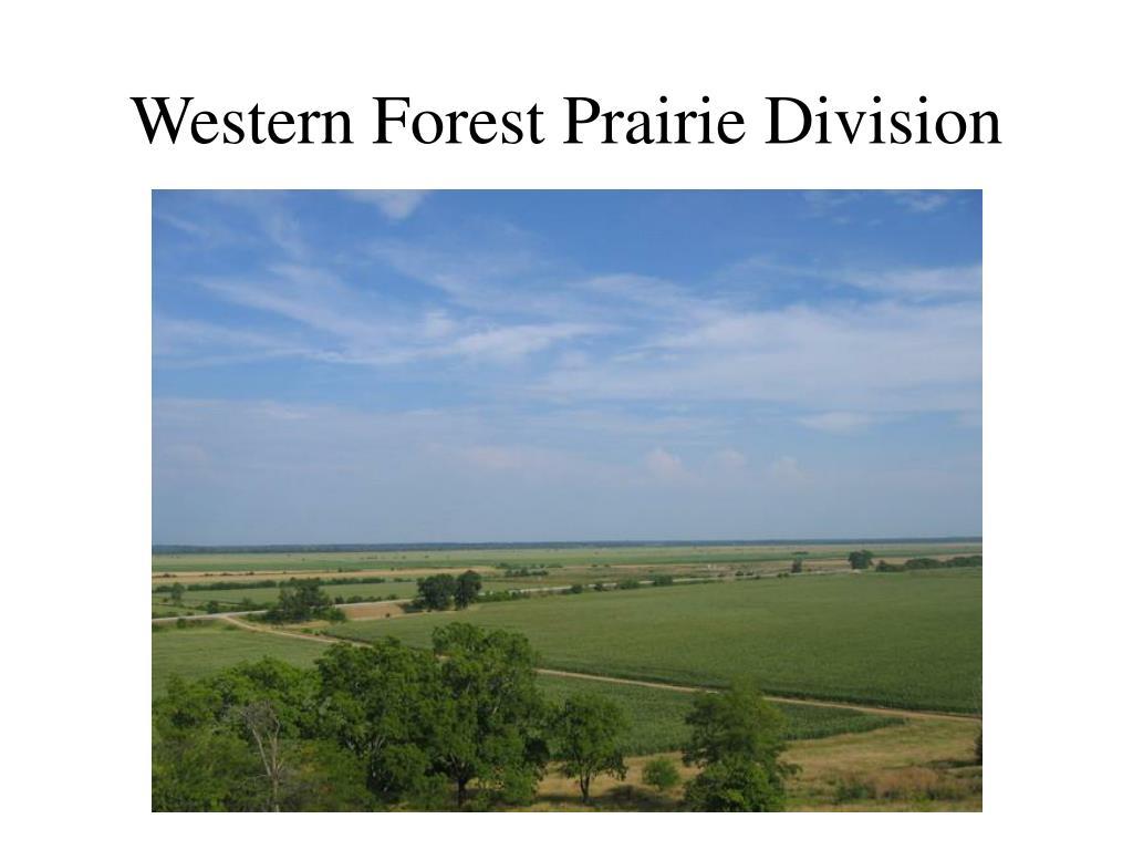 Western Forest Prairie Division