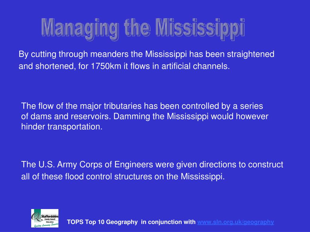 Managing the Mississippi