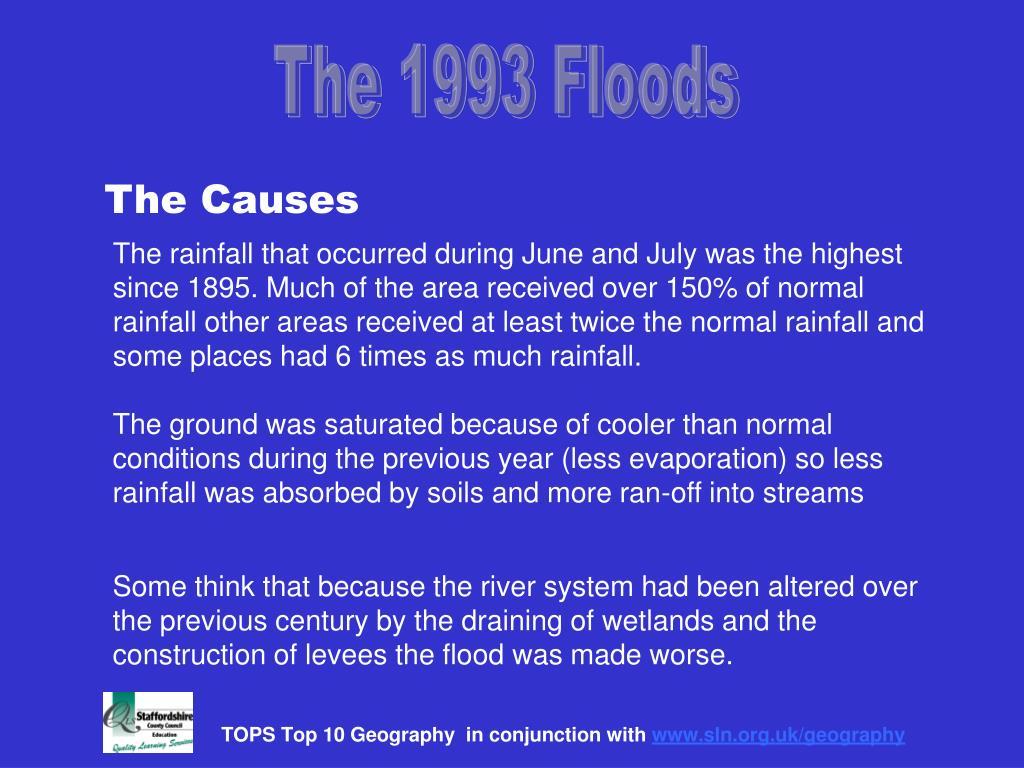 The 1993 Floods