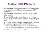 multiple dhcp servers