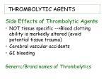 thrombolytic agents26
