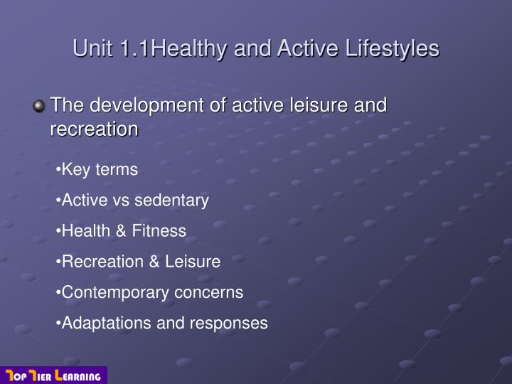 unit 1 1healthy and active lifestyles n.