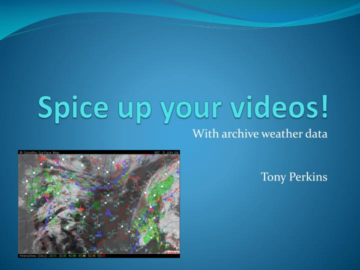 spice up your videos n.
