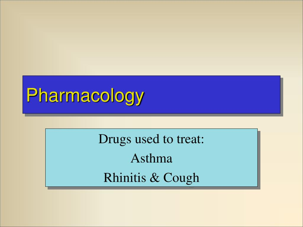 pharmacology l.