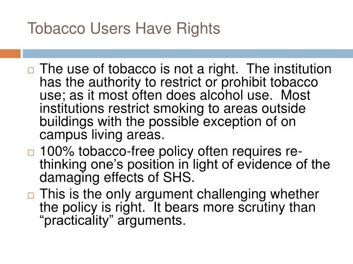 an argument against smoking at school campuses Essay on argument against smoking - expensive highs, expensive addictions, smoking is a worthless habit nicotine, like so many other harmful substances, is a drug.