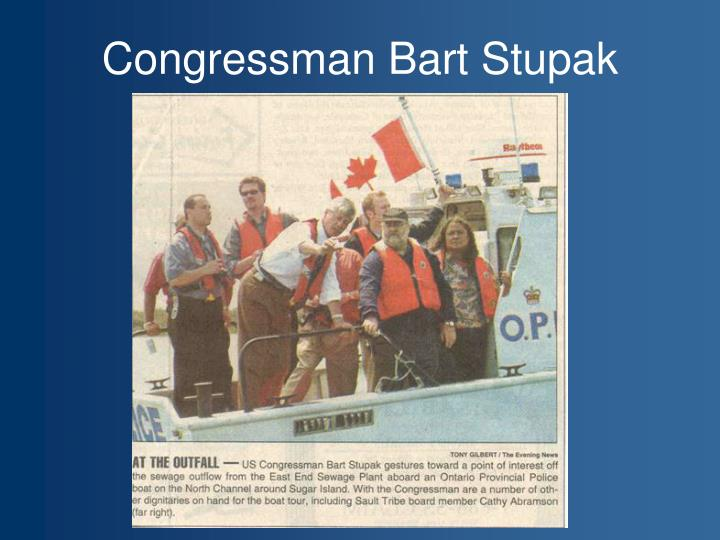 Congressman Bart Stupak