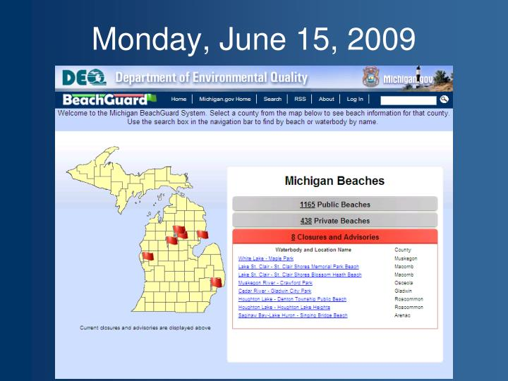 Monday, June 15, 2009