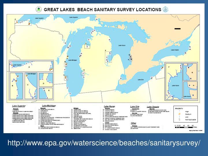 http://www.epa.gov/waterscience/beaches/sanitarysurvey/