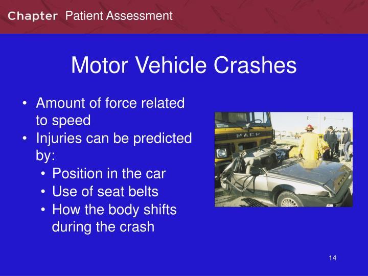 Motor Vehicle Crashes