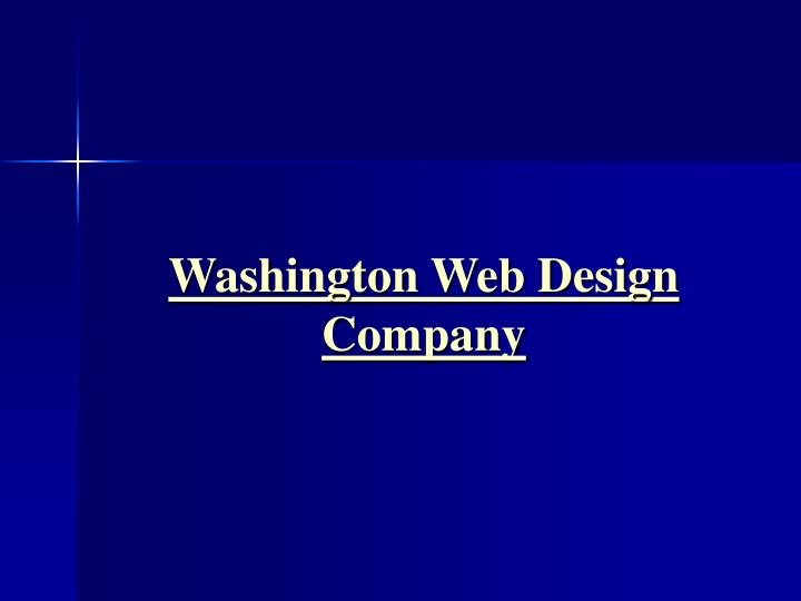 washington web design company n.