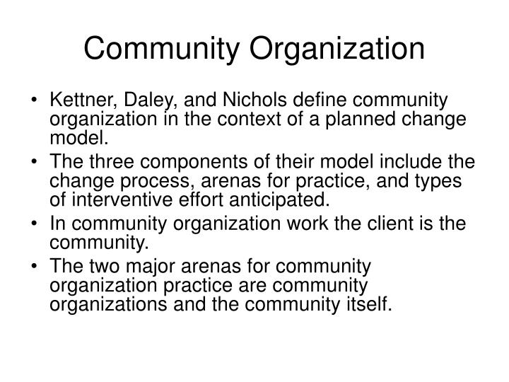 the practice of social work community Using community mobilization methods to extend social work interventions to large populations.