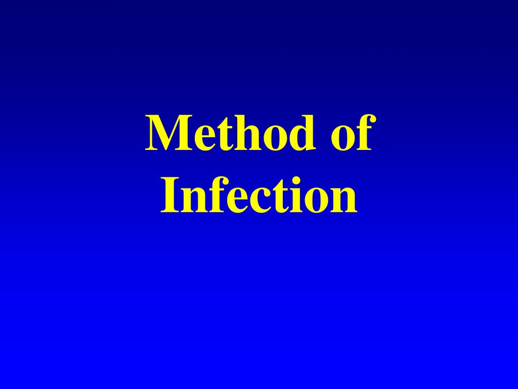 Method of Infection