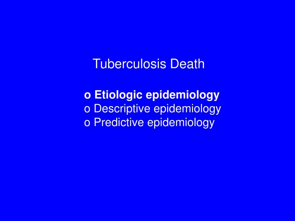 Tuberculosis Death