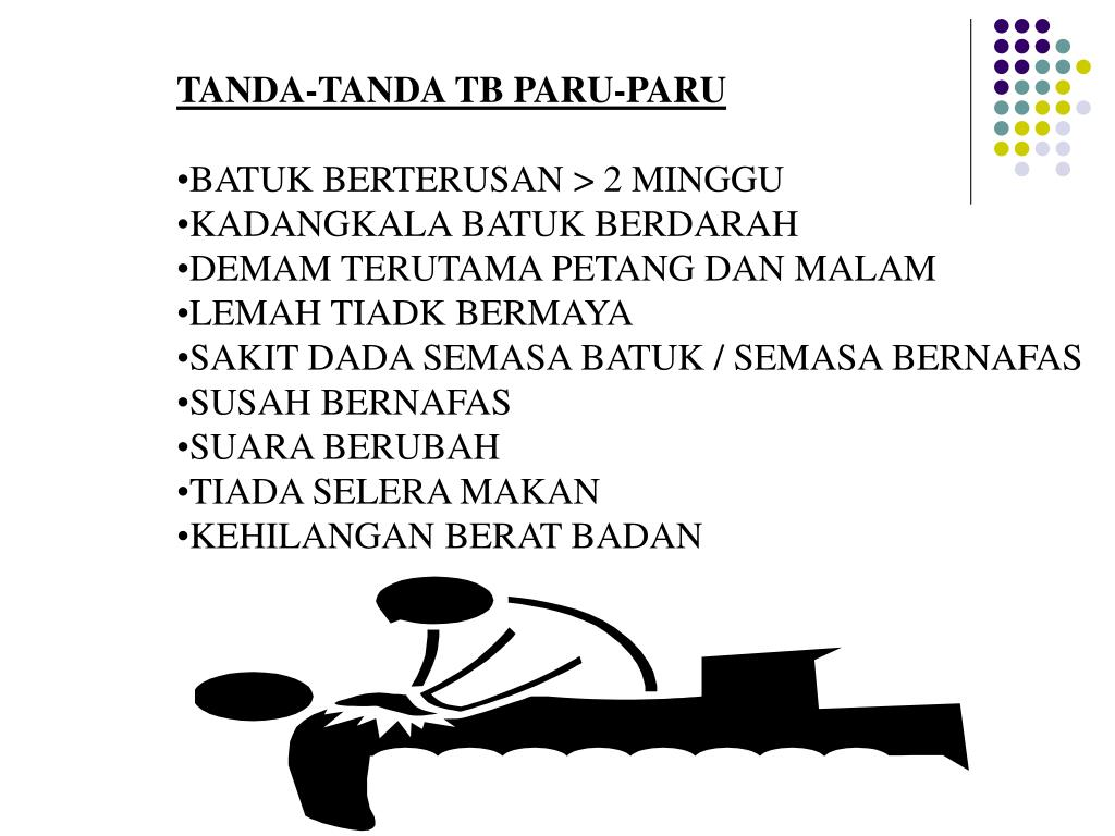 TANDA-TANDA TB PARU-PARU