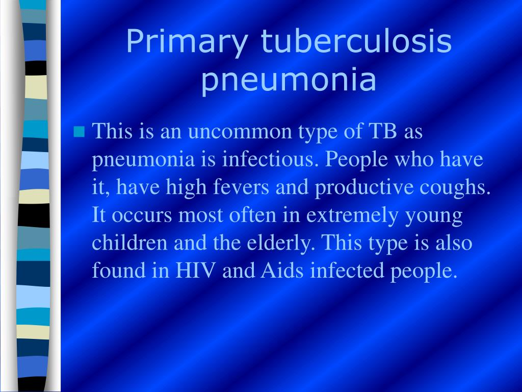 Primary tuberculosis