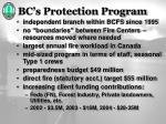 bc s protection program