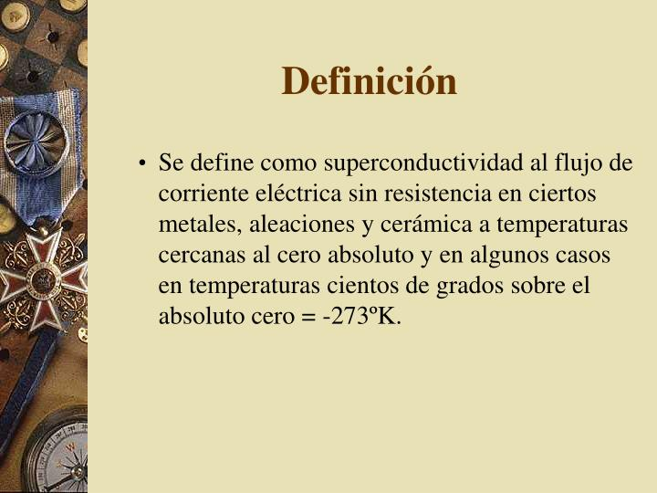 Definici n