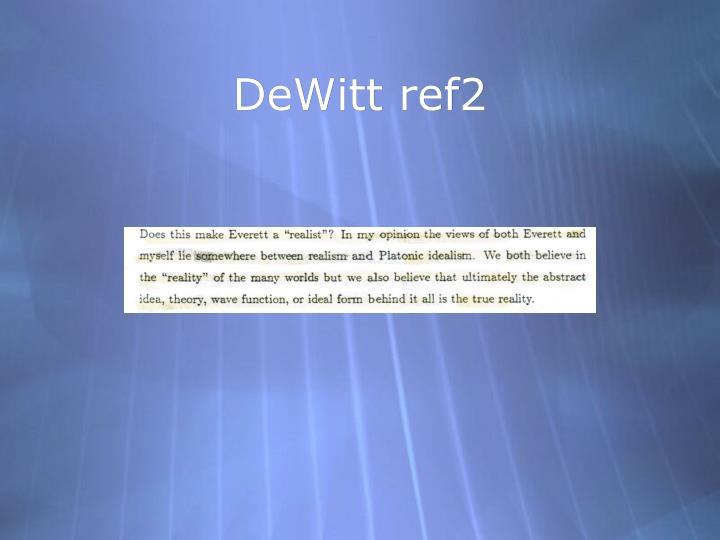 DeWitt ref2