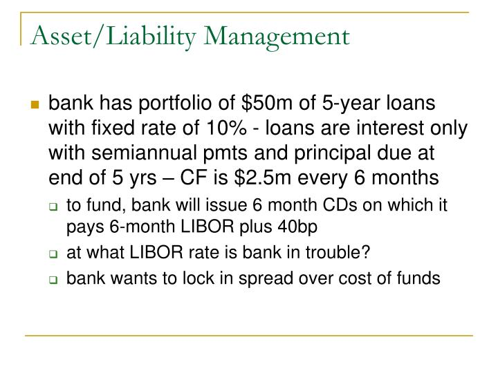 Asset/Liability Management