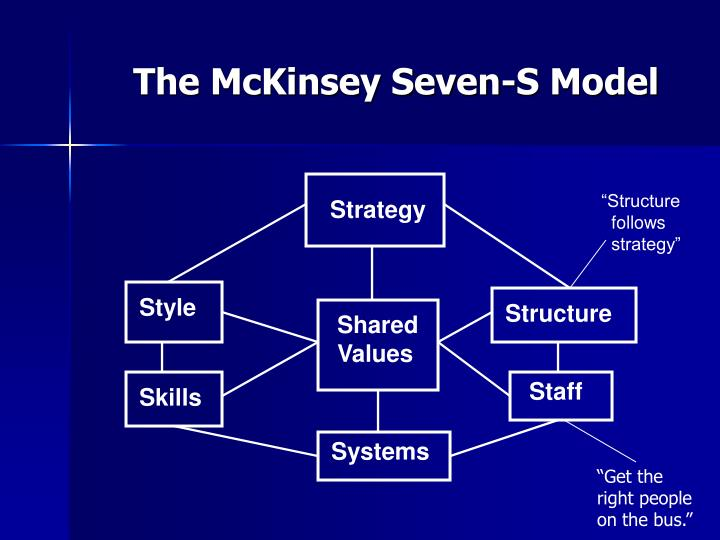 the mckinsey seven s model n.