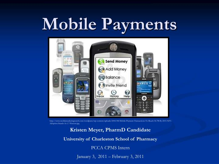 mobile payments n.