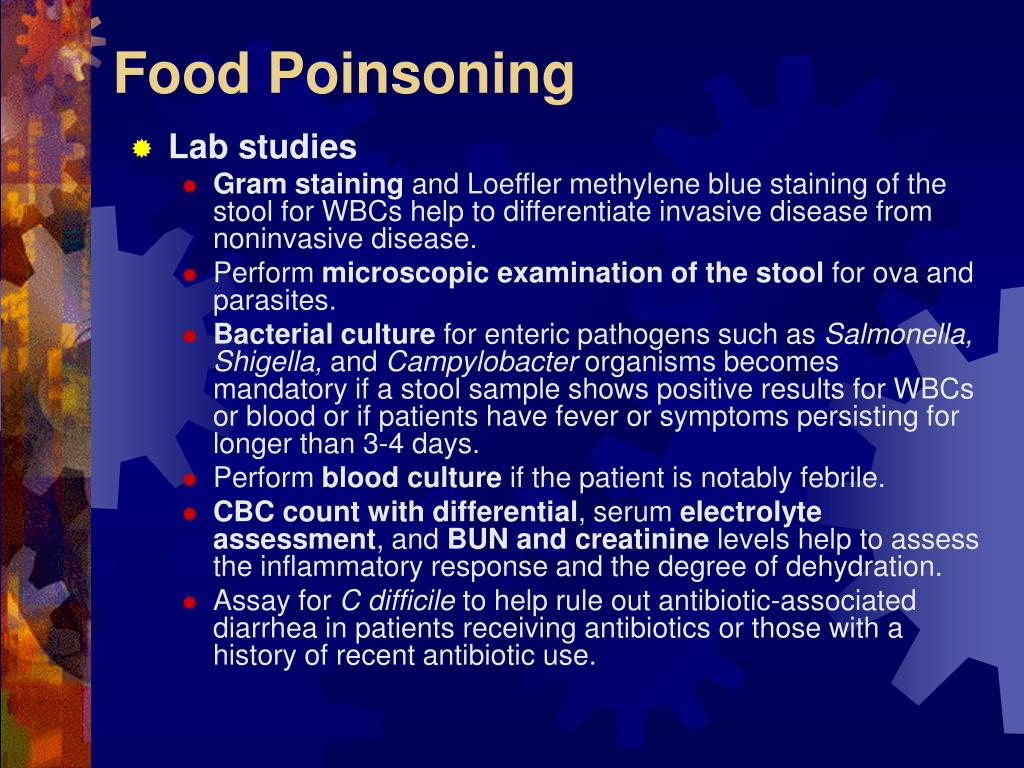 Food Poinsoning