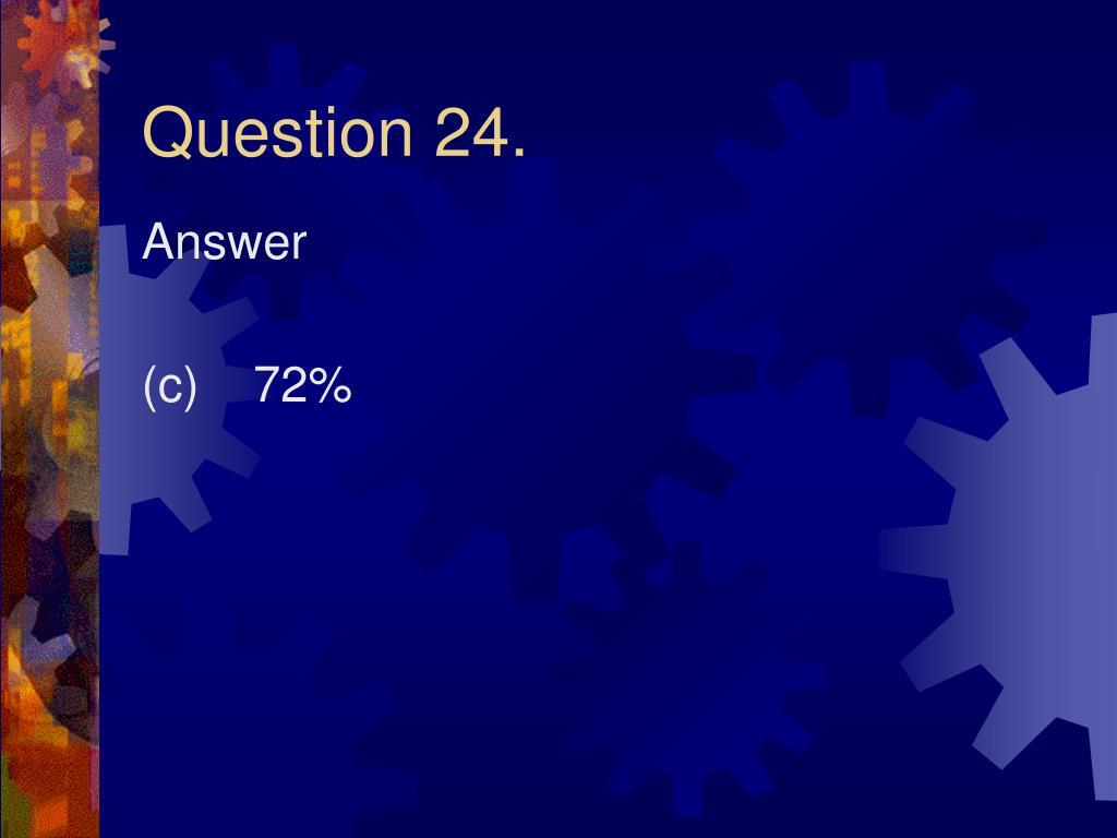 Question 24.
