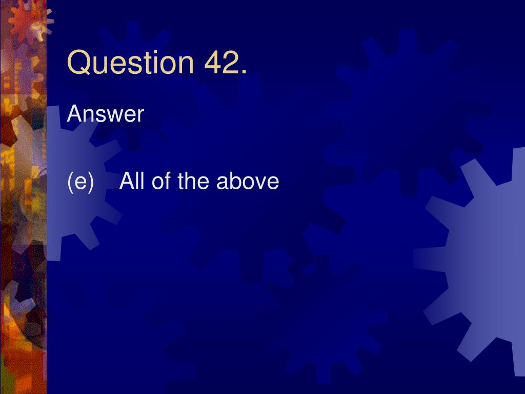 Question 42.