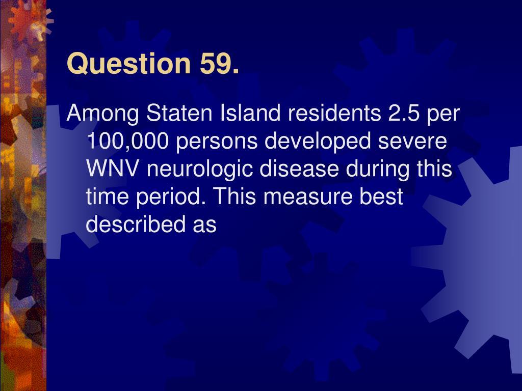 Question 59.