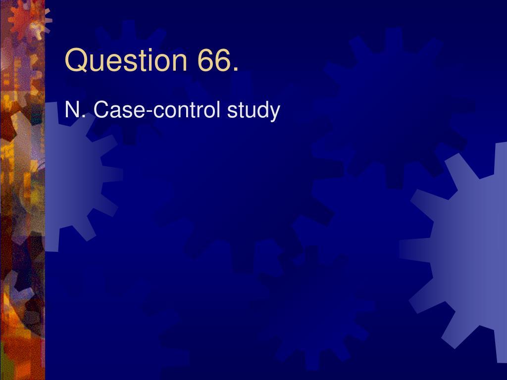 Question 66.