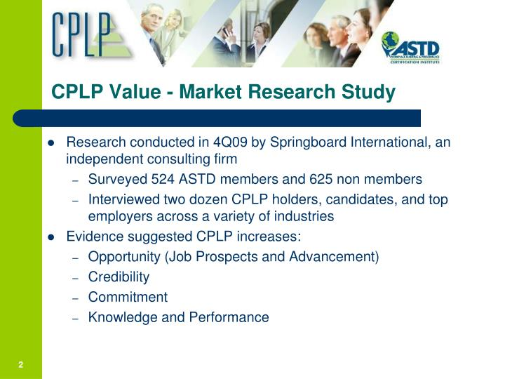 Ppt Cplp Certification Value Powerpoint Presentation Id854229