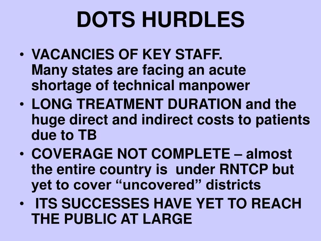 DOTS HURDLES
