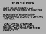 tb in children